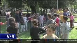 Shqipëri: Fëmijët e pastrehë