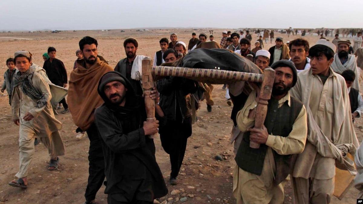 ۷ عضو خانوادهای در ننگرهار در عملیات نظامی کشته شدند