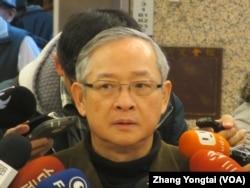 台湾执政党国民党立委林郁方 (美国之音张永泰拍摄 )