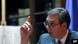 Predsednik Srbije Aleksandar Vučić