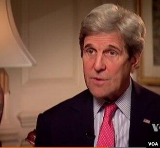 Džon Keri, američki šef diplomatije, tokom intervjua za mrežu al-Hura, 28. april 2016.