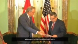 US Envoy in Havana Delivers Letter on Reopening US, Cuban Embassies