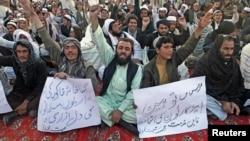 Những người biểu tình phần lớn là sinh viên có liên hệ với đảng chính trị Jamaat-e-Islami.