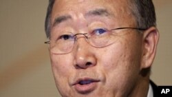 United Nations Secretary-General Ban Ki-Moon (File)