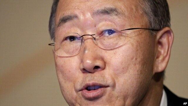 United Nations Secretary-General Ban Ki-Moon (File)