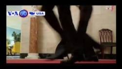 TT Mỹ chạy bộ ủng hộ chiến dịch chống béo phì của vợ