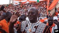 Le président du Burkina Faso, Roch Marc Christian Kaboré.