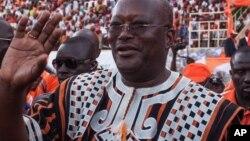 Marc Christian Kabore wanda ya lashe zaben shugaban kasa