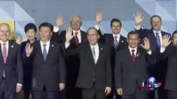 马尼拉民众抗议APEC峰会