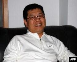 东莞台商协会副会长张锡帆