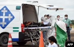 Bolivia se prepara para prevenir el coronavirus. Un simulacro el jueves 5 de marzo de 2020 buscó alistar la capicidad de respuesta del país.