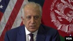Perwakilan khusus AS untuk rekonsiliasi di Afghanistan, Zalmay Khalilzad