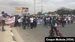 Manifestação contra desemprego em Luanda, 26 setembro 2020