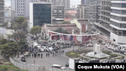 Marcha em Luanda