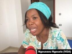 Dominique, jeune financée, souhaite la modération des parents dans la dot, à Brazzaville, le 16 février 2018. (VOA/Ngoussou Ngouela)