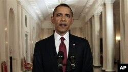 Ο Πρόεδρος Ομπάμα ανακοινώνει το θάνατο του Οσάμα Μπιν Λάντεν
