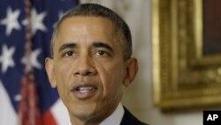 Presiden AS Barack Obama akan veto rancangan undang-undang yang mengenakan sanksi ekonomi tambahan terhadap Iran atas program nuklirnya. (Foto: Dok)