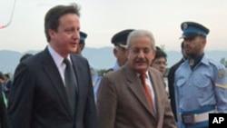 سفر صدراعظم برتانیه به پاکستان