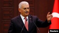 Perdana Menteri Turki, Binali Yildirim menyerukan perbaikan hubungan bilateral Turki dengan Suriah (foto: dok).