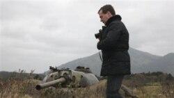 تظاهرات اعتراضی بخشی از ارتش روسيه عليه وزير دفاع آن کشور