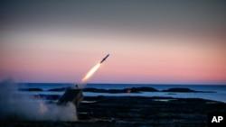 雷神公司地對空導彈系統測試