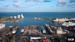Directivos de puertos se reunirán con la delegación cubana que visita el estado.