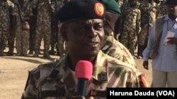 Kwamandan rundunar sojojin dake fafatawa da kungiyar Boko Haram Janar Rogers Nicholas