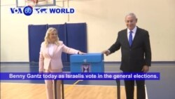 VOA60 World - Netanyahu Faces Tough Re-Election Fight