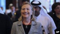 Hillary Clinton akan kunjungi konferensi mengenai Suriah dan Afghanistan. (Photo: AP)
