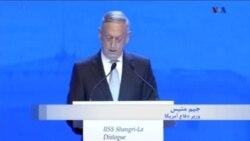 انتقاد وزیر دفاع آمریکا از نظامی شدن اوضاع در جزایر مورد اختلاف دریای جنوبی چین