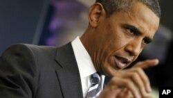 奧巴馬敦促兩黨共同打破債務談判僵局。