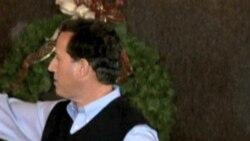 Santorum Gains Ground in Republican Contest