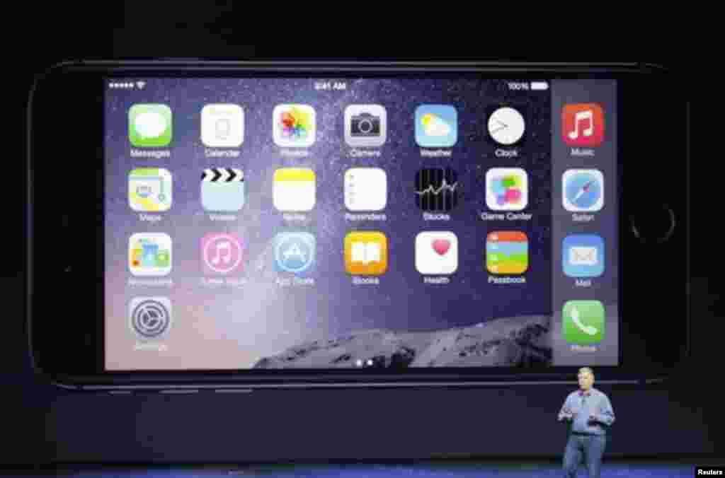 آئی فون 6 کا آپریٹنگ سسٹم آئی او ایس 8 رکھا گیا ہے
