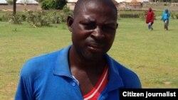 Ijabula Seltimari daga Izghe daya daga ikin wadanda suka sha da kyar a hannun 'yan Boko Haram a garin Izghe, jihar Borno.