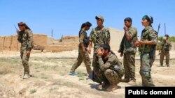Đơn vị Bảo vệ Nhân dân của người Kurd (YPG) ở Syria.