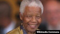 前南非总统曼德拉。