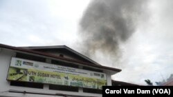 South Sudan Hotel Fire