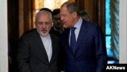 وزیران خارجه ا ایران و روسیه