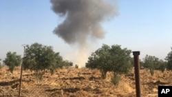 شام کے شمالی علاقے میں ترک فوجوں کے فضائی حملے جاری ہیں۔