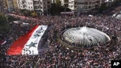 سوریه کې د عربو د ټولنې خلاف مظاهرې