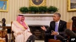 ولسمشر اوباما د سعودي د ولیعهد محمد بن نایف سره