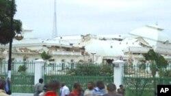 ہیٹی کا صدارتی محل زلزلے کے بعد