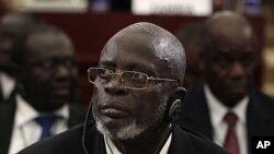 幾內亞比紹總統馬蘭·巴卡伊·薩尼亞。(資料圖片)