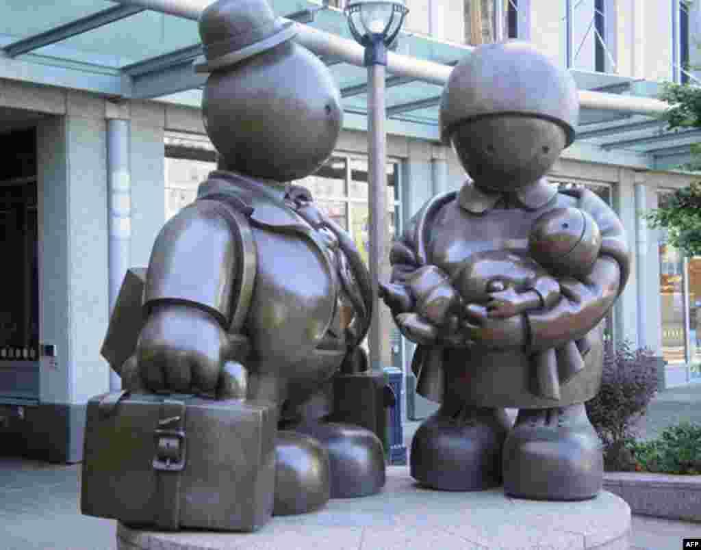 Работа известного американского скульптора Тома Аттернеса