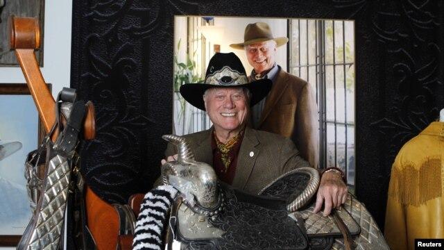 El actor Larry Hagman protagonizó 'Dallas', una de las series más populares de EE.UU. por 15 temporadas.