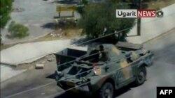 Suriye Ordusu Yine Hama'ya Girdi