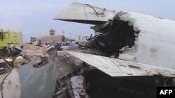 Chiếc máy bay chở khách bị rớt tại nước Cộng hòa Dân chủ Congo