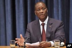 Le président Alassane Ouattara à l'ONU (archives 2011)