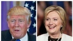 Clinton ႏွင့္ Trump မူ၀ါဒေတြ အျပိဳင္အဆုိင္ခ်ျပ
