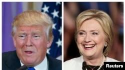 Hamshakin attajirin nan Trump na Republican da Clinton ta Democrats su ne suka lashe zaben fidda gwani na jihar New York